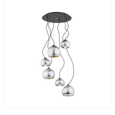 Black ceiling lamp FRIDA 2527 ARGON