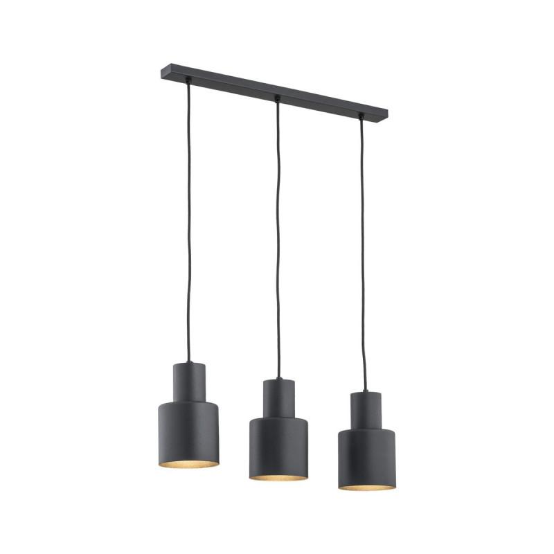 Black ceiling lamp MAJORKA 1428 ARGON