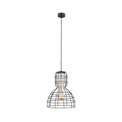 Black ceiling lamp MARCO 4012 ARGON
