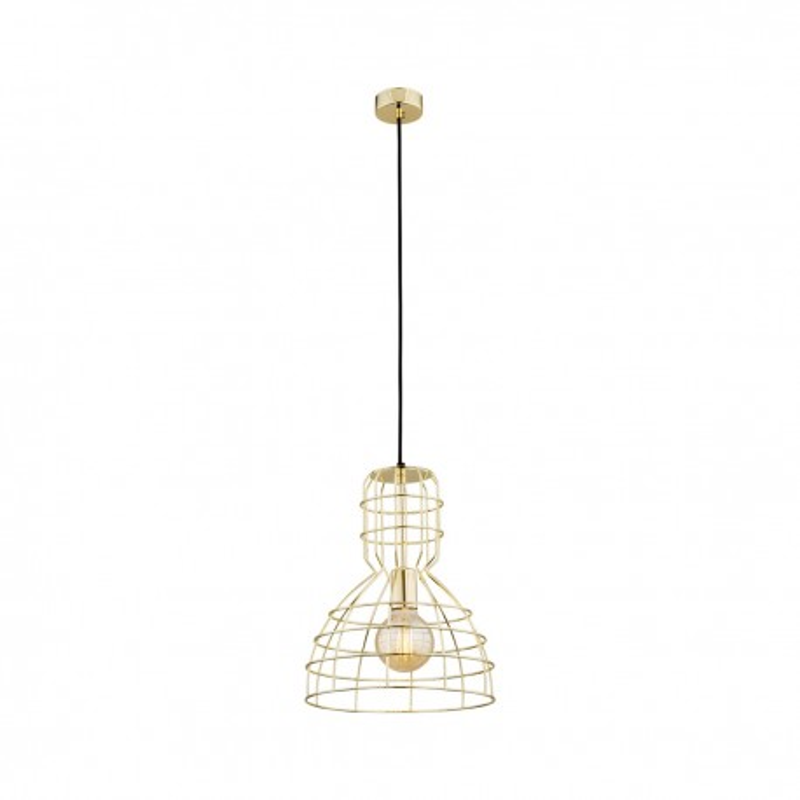 Brass ceiling lamp MARCO 4013 ARGON