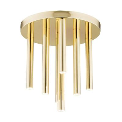 Brass ceiling lamp SANDRINO 5024 ARGON