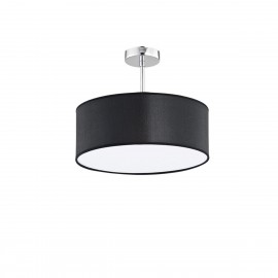 Lampa sufitowa NOWE TASOS 860 czarny abażur ARGON
