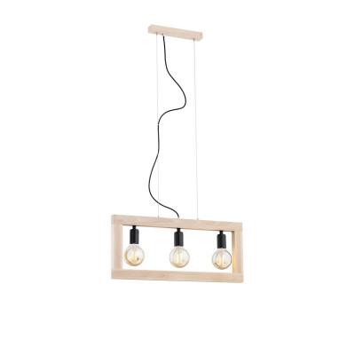 Natural beech ceiling lamp TAVERNA 1405 ARGON