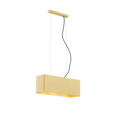 Ceiling lamp / hanging lamp TENERYFA 1426 golden ARGON