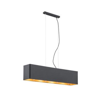 Ceiling lamp / hanging lamp TENERYFA 1682 black ARGON