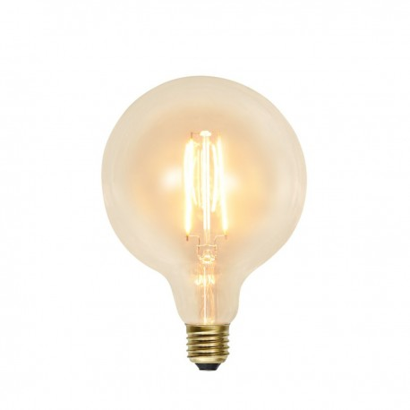 LED LAMP E27 G125 SOFT GLOW