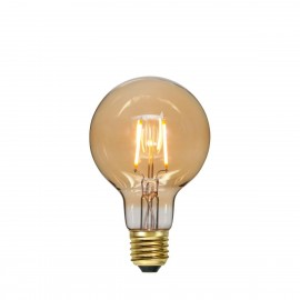 LED LAMP E27 G80 PLAIN AMBER Star Trading