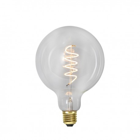 LED LAMP E27 G125 DECOLED SPIRAL CLEAR 3-STEP Star Trading