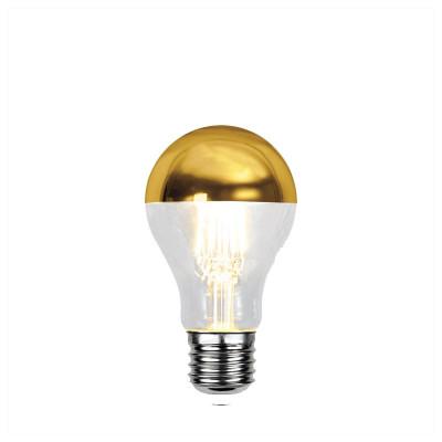 TOP COATED złota żarówka dekoracyjna LED A60 4W ściemnialna 2700K Star Trading