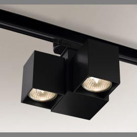Reflector lamp for busbars BIZEN 6630 adjustable metal luminaire for 3-phase rail system SHILO