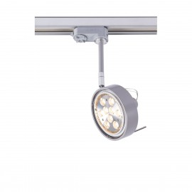 Reflector lamp for busbars FUSSA 6601 adjustable metal luminaire for 3-phase rail system SHILO