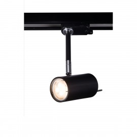 Reflector lamp for busbars FUSSA 6602 adjustable metal luminaire for 3-phase rail system SHILO