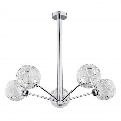 Crystal chandelier / crystal ceiling lamp BELLUNO 2072 ARGON
