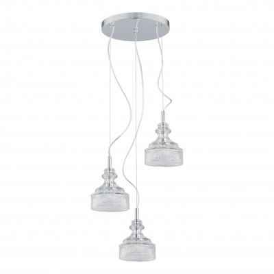 Crystal ceiling lamp / crystal hanging lamp TULUZA 1355 ARGON