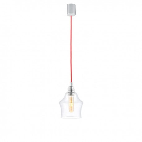 Longis II Pendant Lamp (red cable)