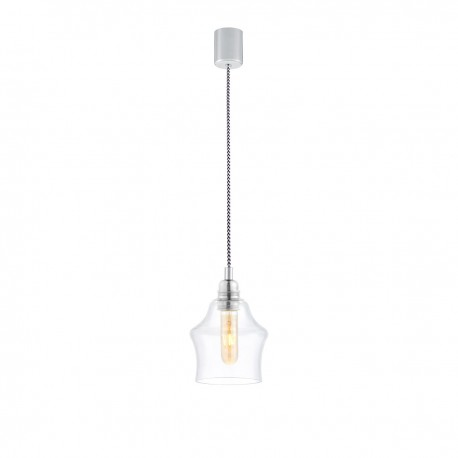 Longis II Pendant Lamp (white-black cable)