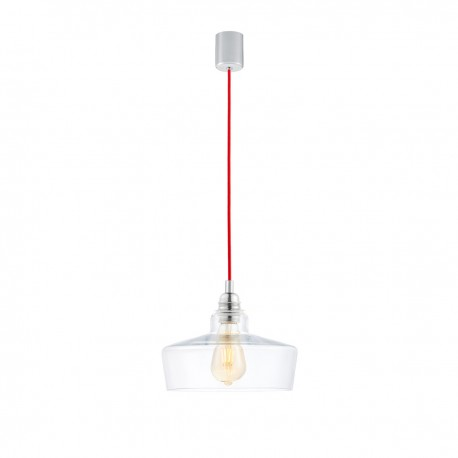 Longis III Pendant Lamp (red cable)