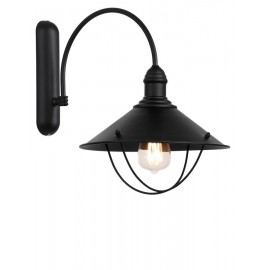 Cello wall lamp / sconce Brown
