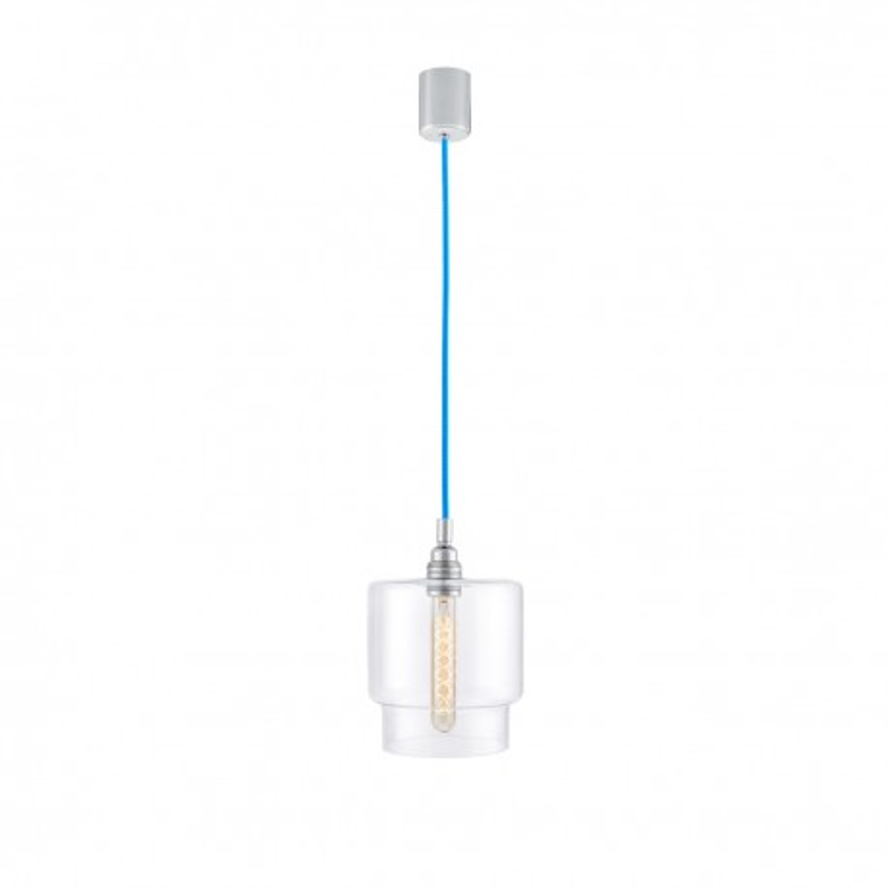 Longis IV Pendant Lamp (blue cable)