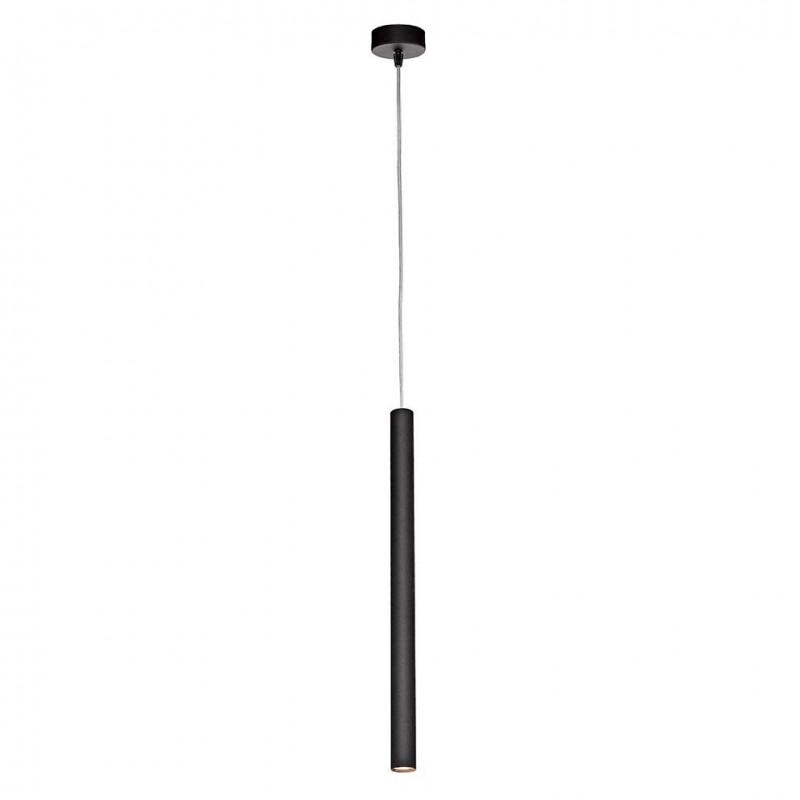 Czarna lampa punktowa ROLL lampa ze zintegrowanym panelem LED KASPA