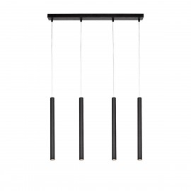 Roll 2 Pendant Lamp Black