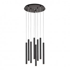 Roll 3 Plafond Pendant Lamp Black