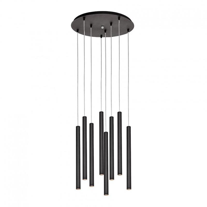 Roll 3 Plafond Pendant Lamp Black