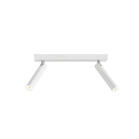 Roll 2 Ceiling Lamp / Wall Lamp White