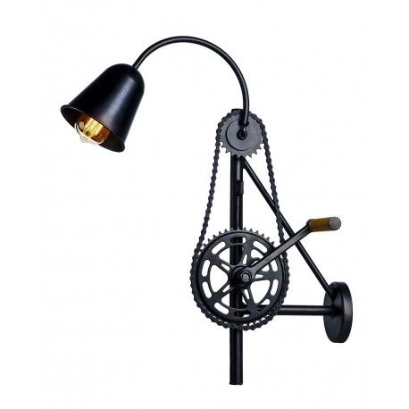 Bike Wall lamp / Sconce Black