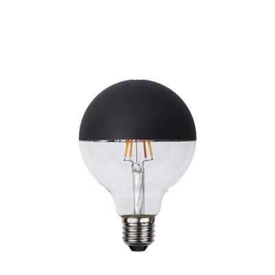 TOP COATED czarna żarówka dekoracyjna LED 95mm 2,8W 2600K ściemnialna Star Trading