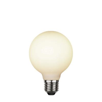Dekoracyjna mleczna matowa żarówka LED G80 5W ściemnialna 2600K Star Trading