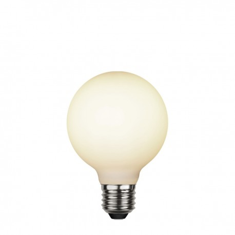 Decorative milky matte LED G80 5W dimmable 2600K  bulb Star Trading