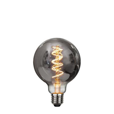 DECOLED SPIRAL SMOKE żarówka dekoracyjna z czarnym szkłem LED G95 4W ściemnialna 2100K Star Trading