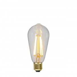 SOFT GLOW 3 power levels, decorative LED ST64 6.5W 2100K bulb Star Trading