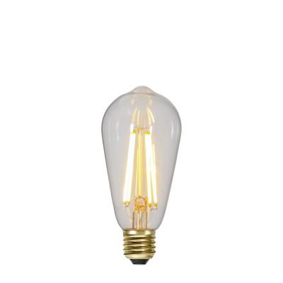 SOFT GLOW 3 stopnie mocy, żarówka dekoracyjna LED ST64 6,5W 2100K Star Trading