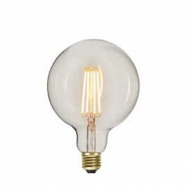 SOFT GLOW 3 power levels, decorative LED G125 6.5W 2100K bulb Star Trading