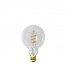 SOFT GLOW 3 power levels, decorative LED G95 4W 2100K bulb Star Trading