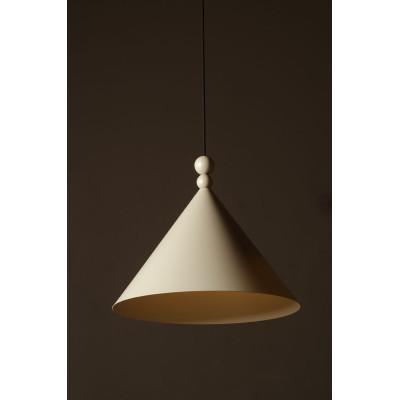 Brown pendant lamp KONKO MONO Light Coffee shade diameter 30cm LOFTLIGHT