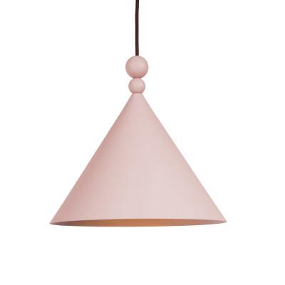 Różowa lampa wisząca KONKO MONO Dirty Pink średnica klosza LOFTLIGHT