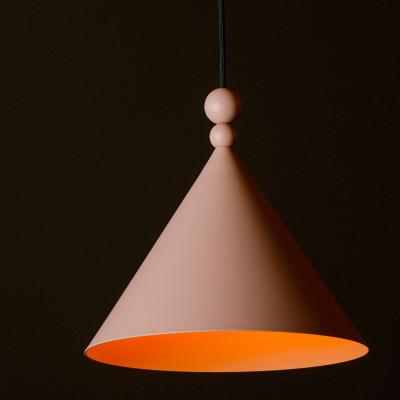 Pink pendant lamp KONKO MONO Dirty Pink 45cm LOFTLIGHT