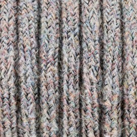 Colorful braided cable M02 Barbara coral two-core 2x0.75