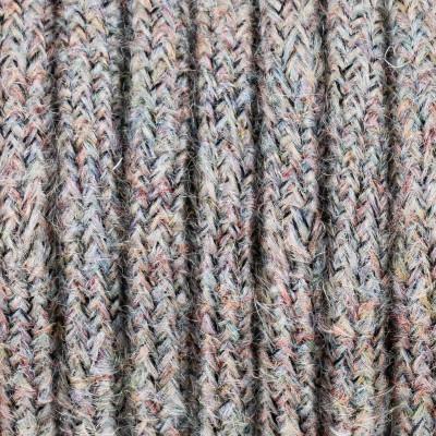 Kolorowy kabel w oplocie moherowym M02 Barbara dwużyłowy 2x0.75 Kolorowe Kable