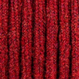 burgundy mohair cable M05 Maria two-core 2x0.75 Kolorowe Kable