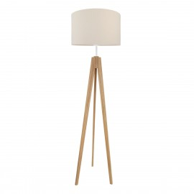 Lampa podłogowa z abażurem ciepły beż Kolekcja Made by Colors youngDECO