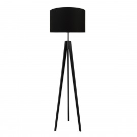 Pure grey floor lamp