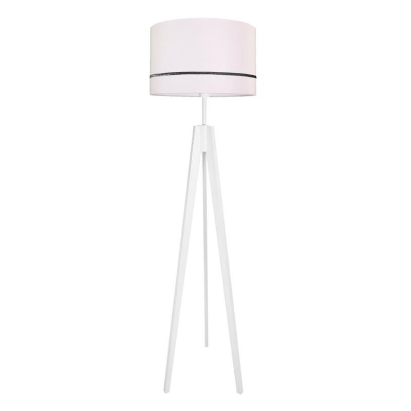 Porcelain pink floor lamp