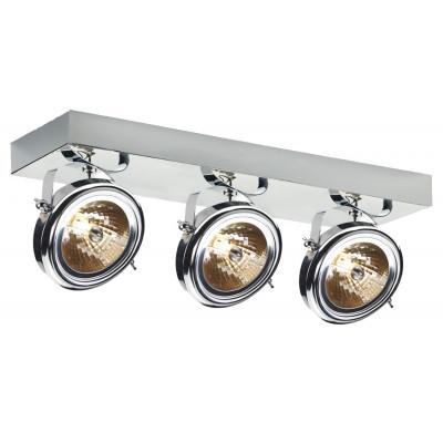 Visio 3 Spotlights Rail Chrome