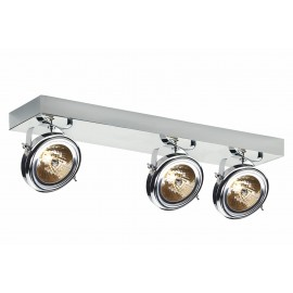 Visio 3 As Spotlights Rail Chrome
