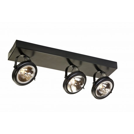 Visio 3 As Spotlights Rail Brown
