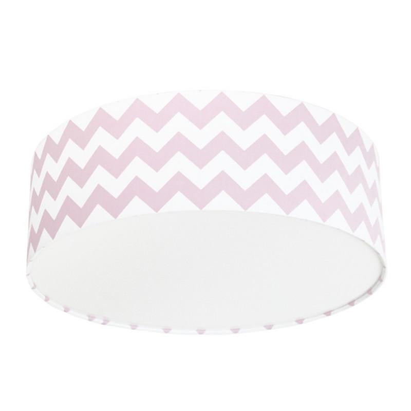 Pink Chevron Plafond Ceiling Lamp